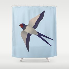 Farmers swallow Shower Curtain