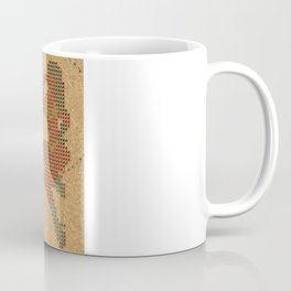 Push Pin Up Coffee Mug