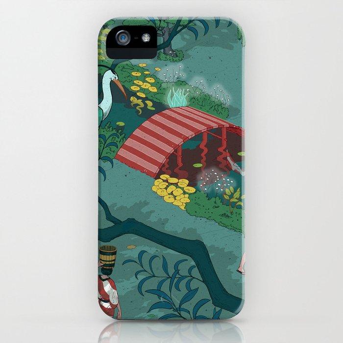 Ukiyo-e tale: The beginning of the trip iPhone Case