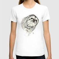 sloth T-shirts featuring Sloth by Ursula Rodgers