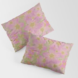 Pink Floral, The Earth Laughs In Flowers Pillow Sham