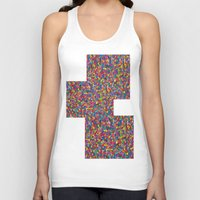 mosaic Tank Tops featuring Mosaic by Juliana Kroscen