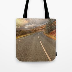 Road Of Colours Tote Bag