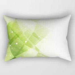Modern technology background Rectangular Pillow