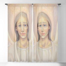 Archangel Anael, Angel of Love Blackout Curtain