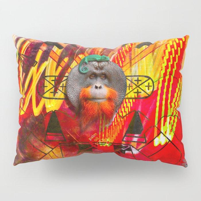 Save orangutans Pillow Sham