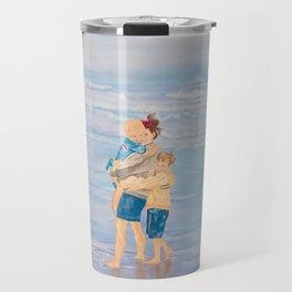 Clam Beach Travel Mug