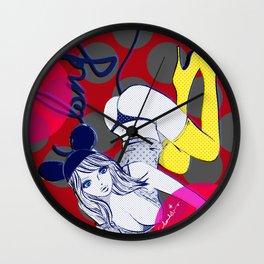 LONG TAIL MODEL Wall Clock