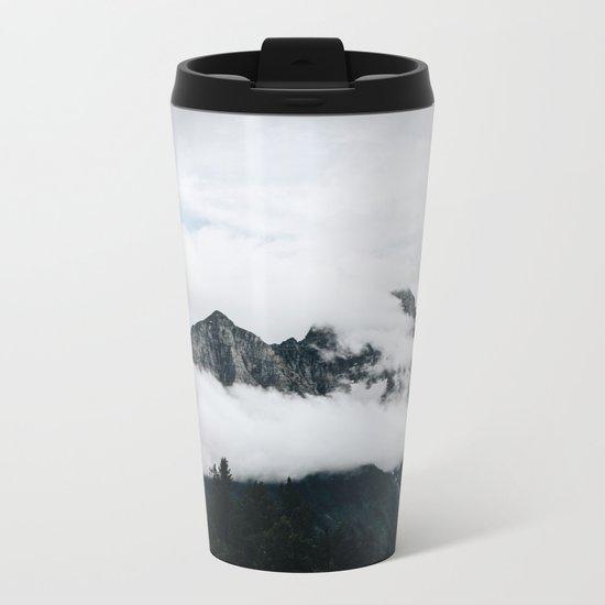 Glacier National Park Metal Travel Mug