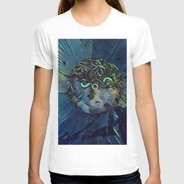Moon Bug Glow in a Bucket by CheyAnne Sexton T-shirt