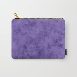 Watercolor Splattering in Ultra Violet (2018 Pantone color) Carry-All Pouch