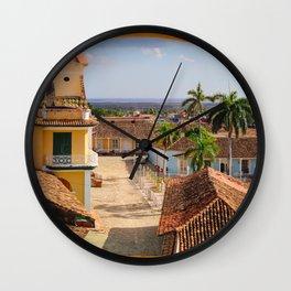 View of Trinidad Wall Clock