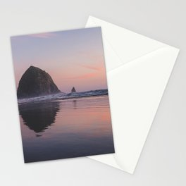Haystack Rock Stationery Cards