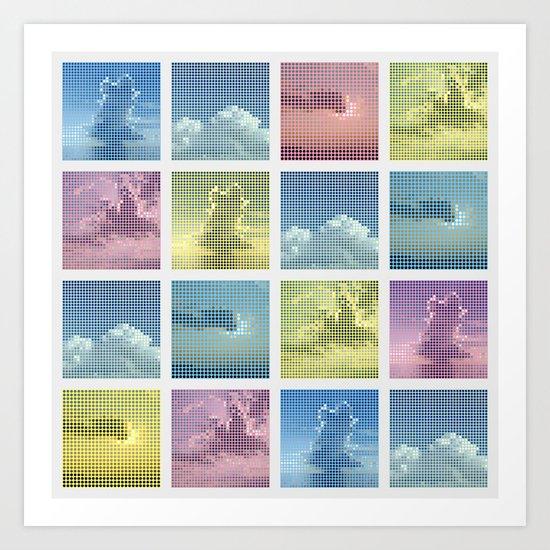 Sky ~ Matrix Art Print