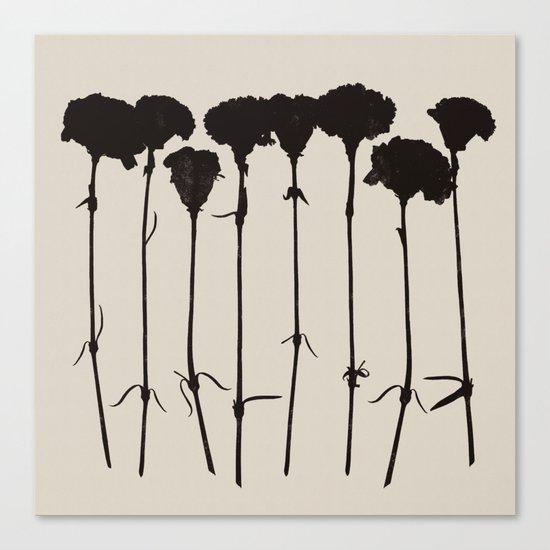 carnations 1 Canvas Print