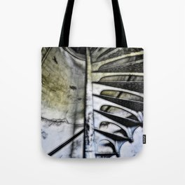 Lighthouse tower stairs Tote Bag