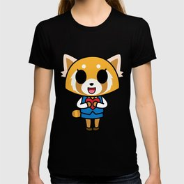 Aggretsuko Loves You! T-shirt