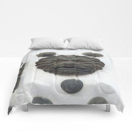 Cartagena Lion Mug, Colombia, South American Comforters