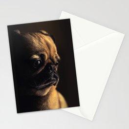 Sad Pug Stationery Cards