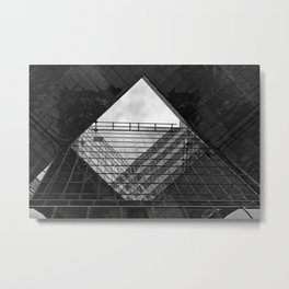 London building abstract  Metal Print