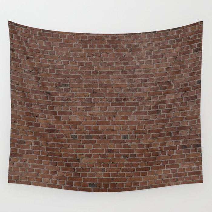 Nyc Big Apple Manhattan City Brown Stone Brick Wall Wall