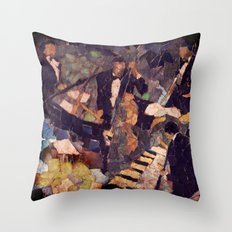The Quartet Throw Pillow