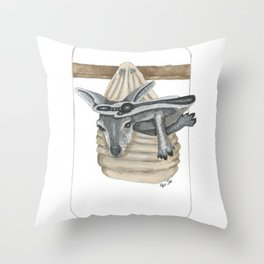 Baby Roo Throw Pillow
