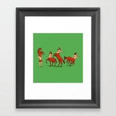 Heigh! Framed Art Print