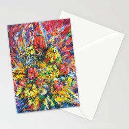 Flower Clock (2016). Stationery Cards