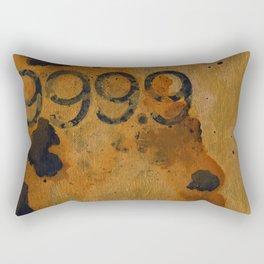 Numeric Values: Gold Standard Rectangular Pillow