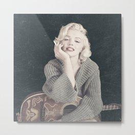 Marylin Monroe Vintage 01 Metal Print
