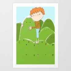 do you need a hug? Art Print