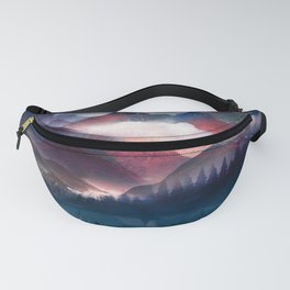 Mountain Lake Under the Stars Fanny Pack