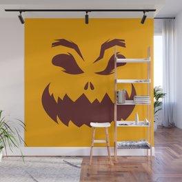Pumpkin Wall Mural