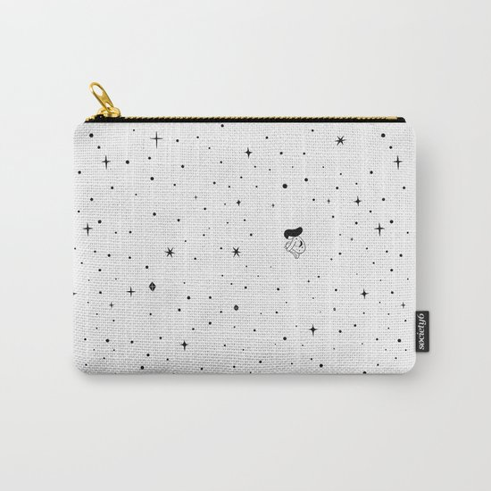 The universe - white Carry-All Pouch