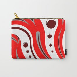 Red Tiger Carry-All Pouch