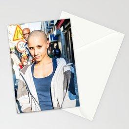 Parisian Mugshots - Mona Lisa Smile (Gueules de Parisiens) Stationery Cards