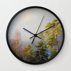 Storm Warning Wall Clock