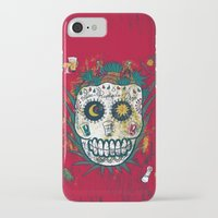 tequila iPhone & iPod Cases featuring Tequila by Jorge Garza