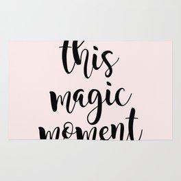 this magic moment Rug