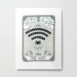 The Wifi Metal Print