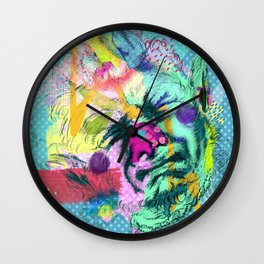 Notes on sincerity Wall Clock