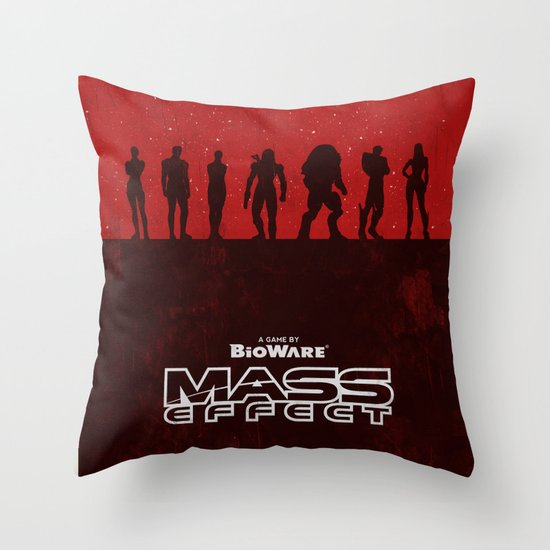 Mass Effect 1 Throw Pillow