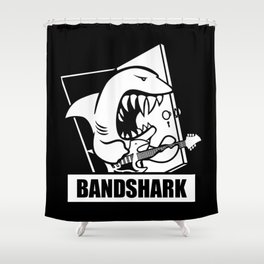 Bandshark Shower Curtain