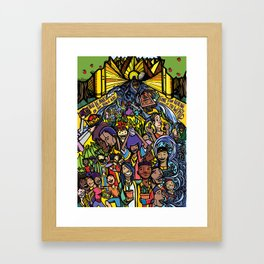 Revelation 22 Framed Art Print