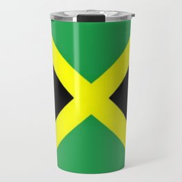 Jamaica Flag Travel Mug