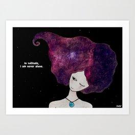 In solitude Art Print