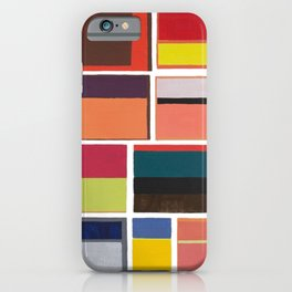 Mark Rothko Collage iPhone Case