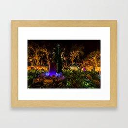 Christmas colors Framed Art Print