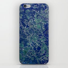 Mapping My Mind iPhone Skin
